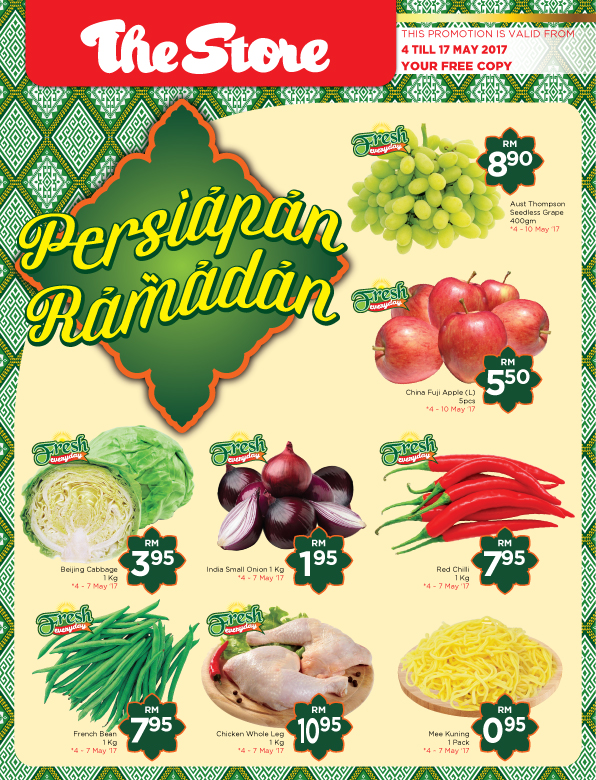 The Store - Persiapan Ramadan